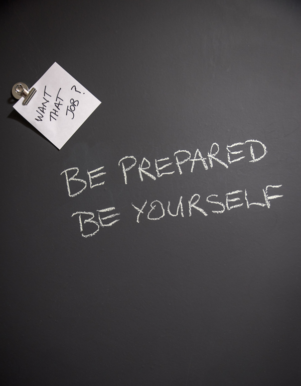 Be Prepared Be Yourself